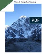 Everest base camp trek, Trekking in Everest base camp, Nepal Everest base camp trek, Everest hiking