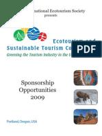 ESTC 2009 Sponsorship Opportunities