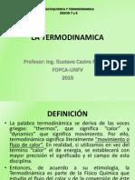 La Termodinamica 1 Sesion 7 y 8