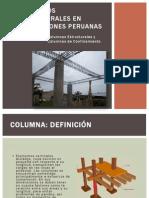 Columnas Estructurales y Columnas de Confinamiento
