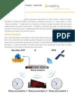 Synchronized Clock Systems Spanish