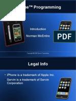 iPhone Programming Intro