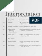 Interpretation, Vol 19-3
