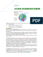 Comecon y Kominform