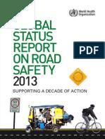 Global Status Report on Road Safety 2013 (en)