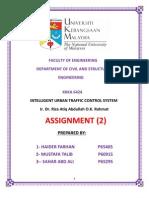task 2 Urban Traffic Management System
