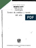 48286544 Textos de Estetica y Arte PDF