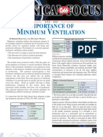 Minimum Ventilation