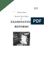 Examination Reforms