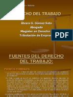 Derecho del Trabajo 2010 mas fuentes.ppt