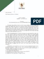 Surat Edaran Menteri Kesehatan (Menkes) No 132 Tahun 2013 Tentang Pelaksanaan Sanitasi Total Berbasis Masyarakat (STBM)