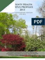 2013 County Health Status Profiles