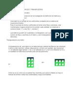 Definicion de Matrices y Transpuestas