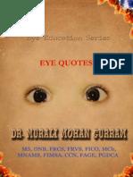 EYE QUOTES-Dr. Murali Mohan Gurram