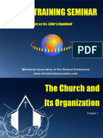 Chapter 1 the Church and Its Organization