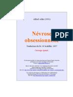 """ADLER 1931 """"Névrose obsessionnelle"""". (1931"""