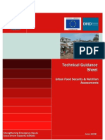 WFP 2008 Technical Guidance Sheet