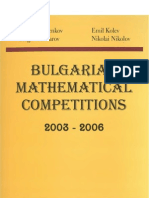 Bulgarian mathematical competitions