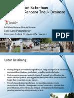 Tata Cara Penyusunan Rencana Induk Drainase Perkotaan - Bagian 1