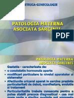 Curs OG - Patologia Asociata Sarcinii