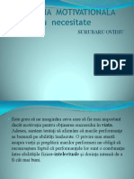 PSIHOLOGIA  MOTIVATIONALA