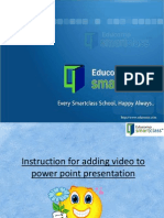 For Uploading Video to Ppt