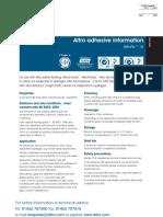 Altro Fix 15 Data Sheet