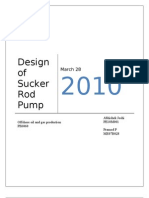 80543493 Design of Sucker Rod Pump
