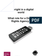 Copyright in a digital world. What role for a Digital Rights Agency?