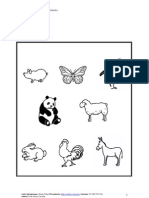 MA Nivel 1 Animales ByN