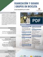 CEMA Torre Guil-Murcia. Curso. Organización y Guiado de grupos en bicicleta. Abril 2013. Obra Social.