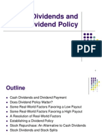 Divident and Divident Policy