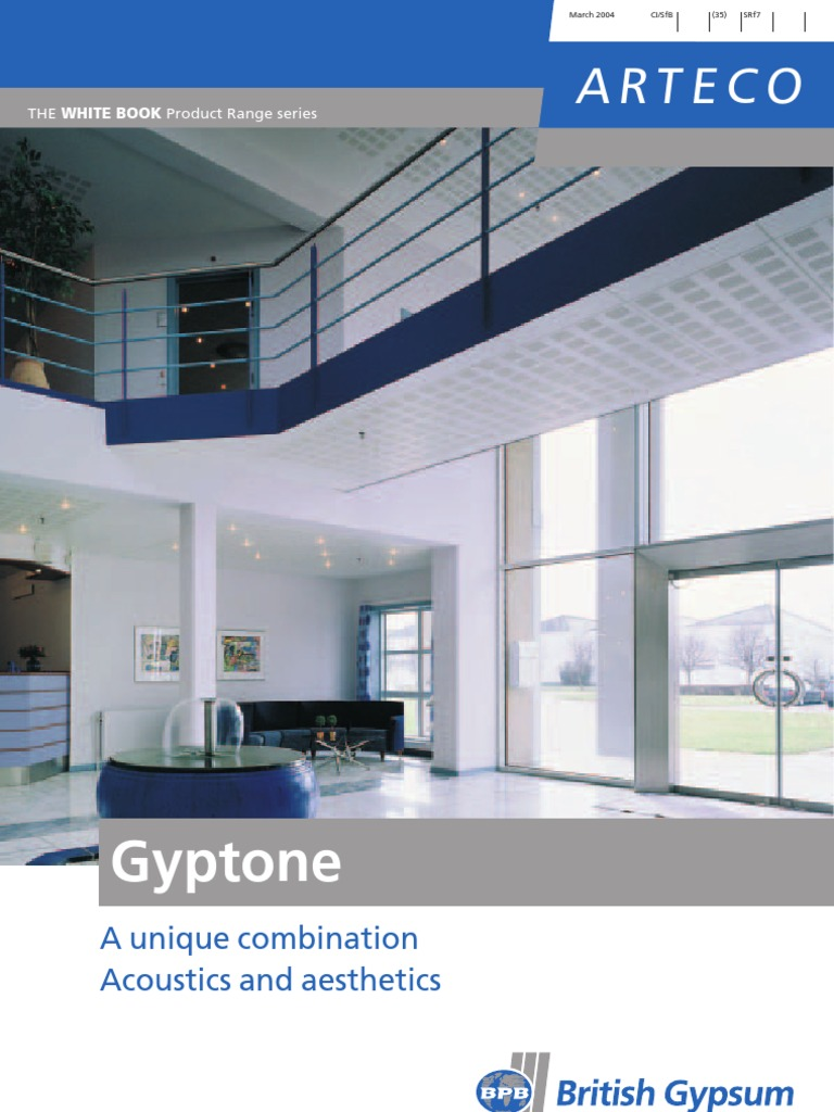 Gyptone Brochure 0304 Drywall Building Engineering