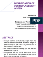 Design and Fabrication of Gas Cylinder Warning System