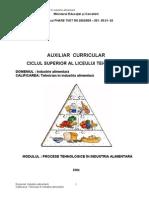 Procese Tehnologice in Industria Alimentara_M. Coman