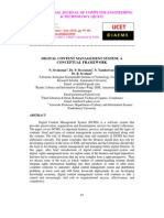 Digital Content Management Management Systems