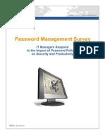 RoboForm Enterprise-Password Management Survey