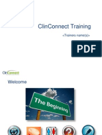 Clinconnect Training Pres