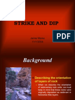Strike and Dip