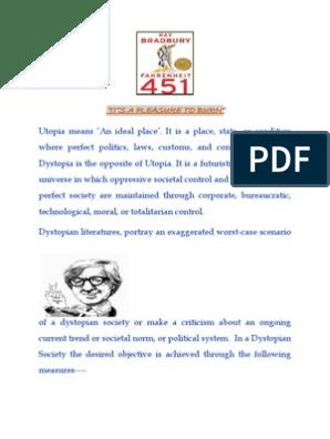fahrenheit 451 critical essay