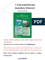 Język C. Pasja programowania mikrokontrolerów 8-bitowych