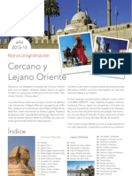 Tours Cercano y Lejano Oriente 2013 y 2014. Mapaplus