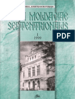 Acta Moldaviae Septentrionalis I 1999