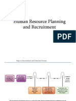HR Planing and Recruitment