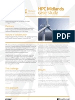 HPC Midlands and E.ON Case Study - Predicting the Impact of Air Flow on Off-Shore Energy Generation