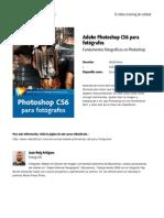 Adobe Photoshop Cs6 Para Fotografos