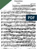 Sitt Concertino Violin