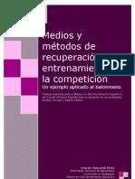 Medios y métodos de recuperación del entrenamiento y la competición