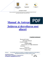 Manual Antreprenoriat MICRA