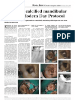 Treating a Calcified Molar - case report